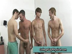 College Guy Get His Dick And Ass Examined By Doktor 12 By CollegeGayPhysical