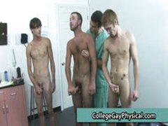 College Guy Get His Dick And Ass Examined By Doktor 11 By CollegeGayPhysical