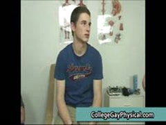 College Guy Get His Dick And Ass Examined By Doktor 18 By CollegeGayPhysical