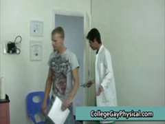 College Guy Get His Dick And Ass Examined By Doktor 23 By CollegeGayPhysical