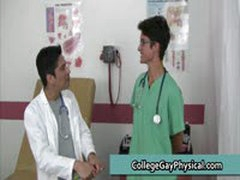 College Guy Get His Dick And Ass Examined By Doktor 15 By CollegeGayPhysical