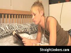 Straight Guy Jayden James Stroking His Fine Hard Cock 1 By StraightJerkers