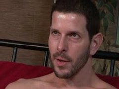 Muscular Hung Gay Dude Gets Paid $1000 To Seduce A str8 Divorced Dude.