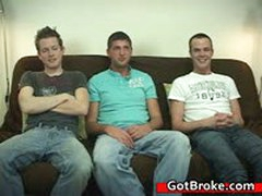 Blake, Jeremy & Austin Gay Threesome 3 By GotBroke