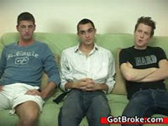 Blake, Damien & Jeremy Gay Threesome 5 By GotBroke