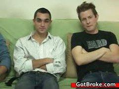 Blake, Damien & Jeremy Gay Threesome 3 By GotBroke