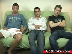 Blake, Damien & Jeremy Gay Threesome 3 By GotBroke