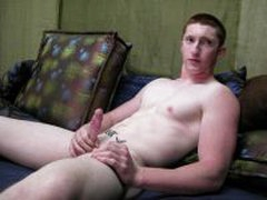 Straight Red Headed Stud Shows Off