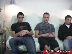 Cute Cj, Austin And Damien Gay Threesome 3 By GotBroke