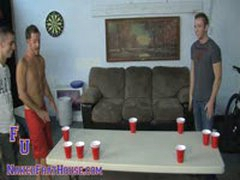 Pong Leads To Dick Suckin Session
