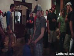Group Hazing Gay Orgy 9 By GotHazed