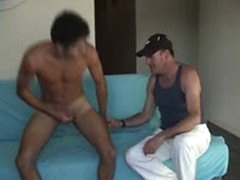 Beautiful str8 Hung Latino Boy Fucks My Mouth While His Cute Girlfriend Waits In The Hotel Lobby.