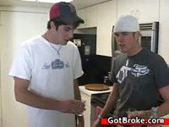 Amazing Broke Guys Threesome And Hardcore 3 By GotBroke