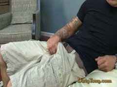Hot Str8 Tattooed Laitino Jerk Off