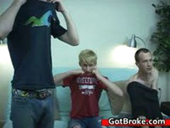 Aiden, Torin & Steve Amazing Gay Treesome 6 By GotBroke