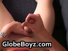 Super Horny Twink Gay Guys Fucking, Sucking, Jerking 23 By GlobeBoyz