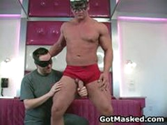 Amazing Gay Stud Stripping And Masturbating 35 By GotMasked
