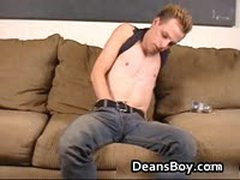 Twink Bradley Jerking His Shaved Cock 2 By DeansBoy