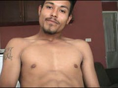 Watch These Hot Gay Mexican Guy Stroke His Huge Uncut Cock And Unleash A Massive Load