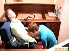 Gay Boss Has His Worker Suck His Dick By Gotgayboss