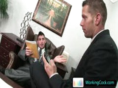 Shane Cant Keep His Hands Off His Offic Colleague By WorkingCock