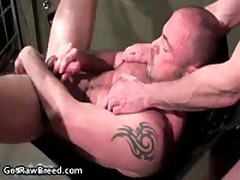 Jacob Caucasian And Rick Richards In Exciting Free Gay Porn Fucked And Sucked 14 By GetRawBreed