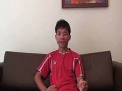 Gay Asian Amateurs Coach Hard Cock