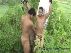Outdoor Tickling - Paul