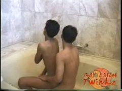 Gay Asian Bathtub Twinkz