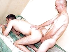Horny Gay Loves It Hardcore Anal Sex Without Condom