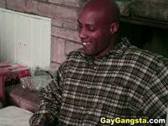Horny Gay Gangsta Anal Fucking With Cumshots
