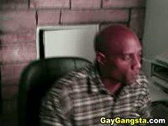 Gay Gangsta Enjoys Anal Fucking