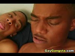 Black Gay Dudes Eat Cock And Fuck Their Sweet Anal Hole
