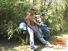 Outdoor Barebacking Latino
