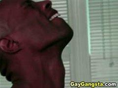 Horny Gay Gangstas Do Very Nice Anal Fucking