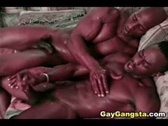 Arousing Booty Fuck By Two Hot Gay Thugs