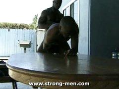 Black Stud Threesome