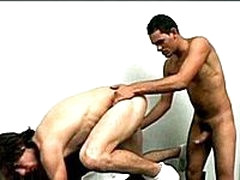 Latino Fucks Blond Stud 2