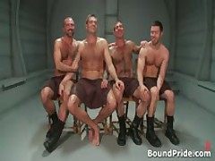 Gay BDSM Groupsex Video 1 By BoundPride