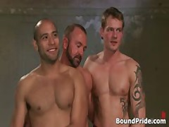 Leo And Trent In Very Extreme Gay Porn Bondage 17 By BoundPride