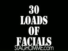 30 Loads Of Facials - The Sequel : Episode Three