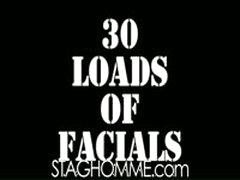30 Loads Of Facials - The Sequel : Episode Three