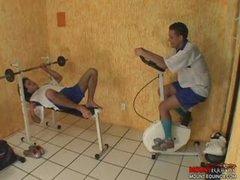 Latin Bareback Workout Pt. 1