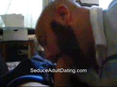 Amateur Sucking Cock