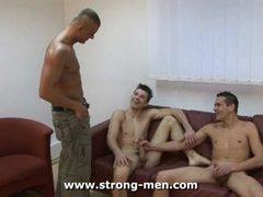 Euro Threesome Sex