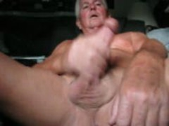 Old Men Jerking Cumshot