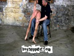 Naughty Straight Boy Gets Flogged & Spanked