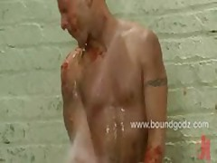 Dylan Happy With Cum All Over His Face
