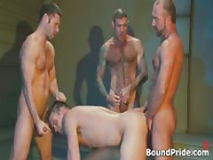 Extreme Gay BDSM Orgy Video 1 By BoundPride