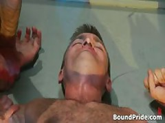 Radical Queer Bondage Three-Way Flick 3 By BoundPride